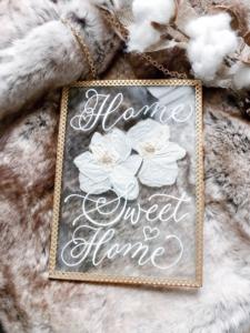 Toronto Calligraphy - Home Sweet Home Signage