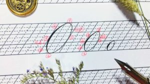 Copperplate Calligraphy Precision Practice 01 - ovals