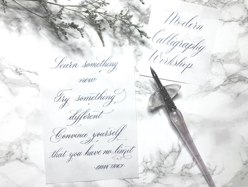 6 benefits of learning calligraphy