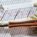 copperplate calligraphy ascender loop